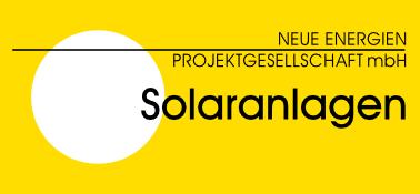 Neue Energien Projekt GmbH Solaranlagen Logo